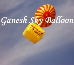 Advertising sky balloon